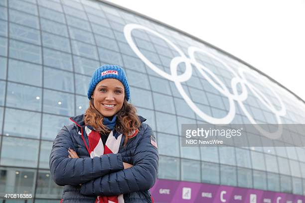 Lolo Jones from the 2014 Olympics in Socci