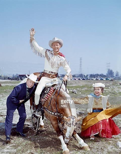Lonesome George Gobel Roy Rogers on Trigger Dale Evans
