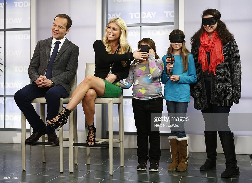 Louis Licari and Jill Martin appear on NBC News' 'Today' show --