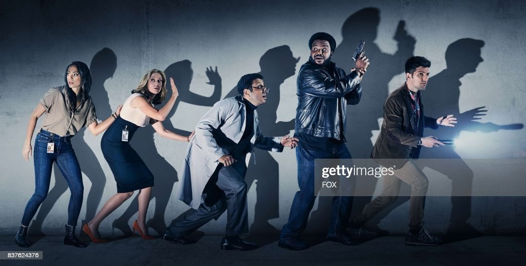 Amber Stevens West, Ally Walker, Adeel Akhtar, Craig Robinson and Adam Scott on GHOSTED premiering Sunday, Oct. 1 (8:30-9:00 PM ET/PT) on FOX.