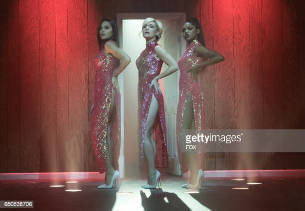 Pictured LR Brittany O'Grady Jude Demorest and Ryan Destiny in the 'Infamous' episode of STAR airing Wednesday Feb 1 on FOX