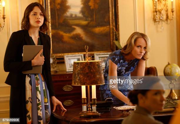 Pictured LR Conor Leslie and Helen Hunt in the 'The Fire This Time' episode of SHOTS FIRED airing Wednesday April 26 on FOX
