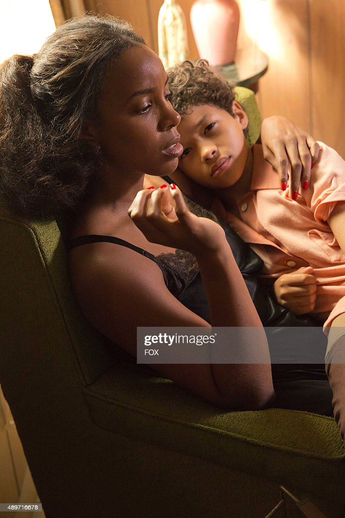 Pictured LR Guest star Kelly Rowland as Leah and Shannon Brown as Young Dwight Walker in the The Devils Are Here Season Two premiere episode of...