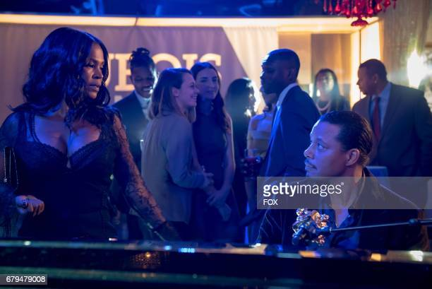 Pictured LR Guest star Nia Long and Terrence Howard in the 'The Naked Villainy' episode of EMPIRE airing Wednesday April 12 on FOX