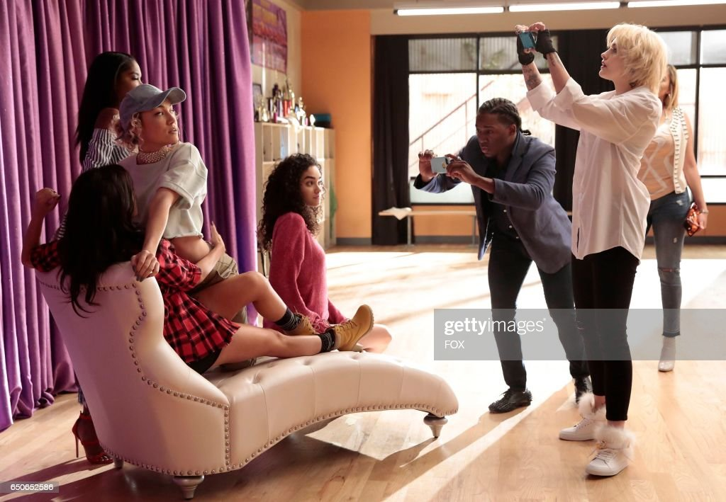 Guest star Sharlene Taule, Jude Demorest, Ryan Destiny, Brittany O'Grady and guest star Paris Jackson in the 'Saving Face' episode of STAR airing Wednesday, March 8 (9:09-10:00 PM ET/PT) on FOX.