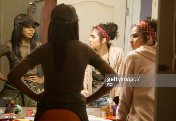 Pictured LR Ryan Destiny and Brittany O'Grady in the 'Infamous' episode of STAR airing Wednesday Feb 1 on FOX