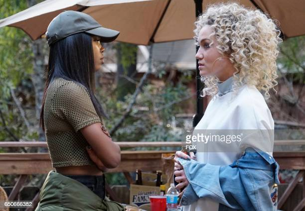 Pictured LR Ryan Destiny and Jude Demorest in the 'Infamous' episode of STAR airing Wednesday Feb 1 on FOX
