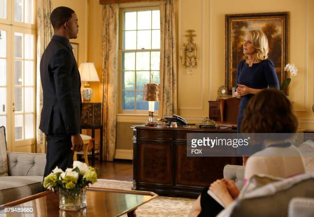 Pictured LR Stephan James Helen Hunt and Conor Leslie in the 'Hour 5 Before the Storm' episode airing Wednesday April 19 on FOX