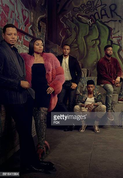 Pictured LR Terrence Howard Taraji P Henson Trai Byers Bryshere Gray and Jussie Smollett on EMPIRE premiering Wednesday Sept 21 on FOX