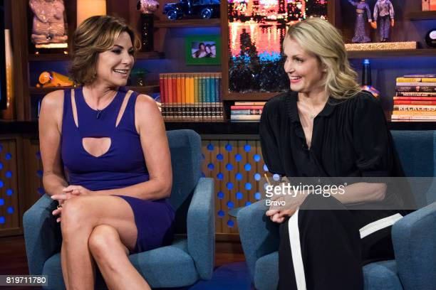 Luann D'Agostino and Ali Wentworth