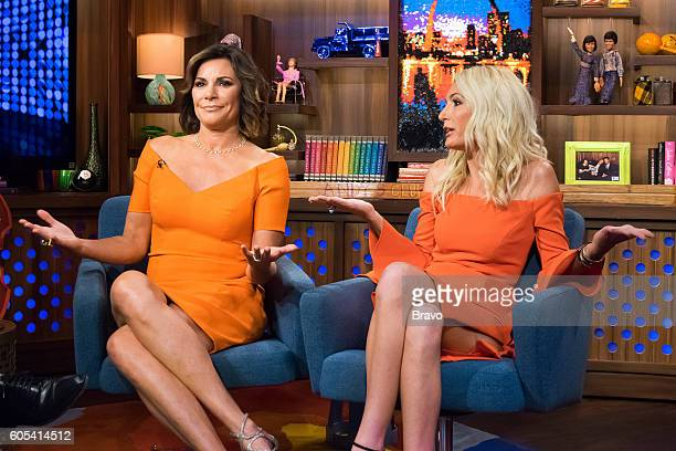 Luann De Lesseps and Kate Chastain