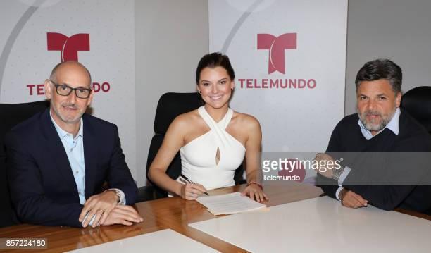Luis Silberwasser President Telemundo Network and Universo Channel Marjorie De Sousa Ricardo Coeto Executive Vice President Production Telemundo