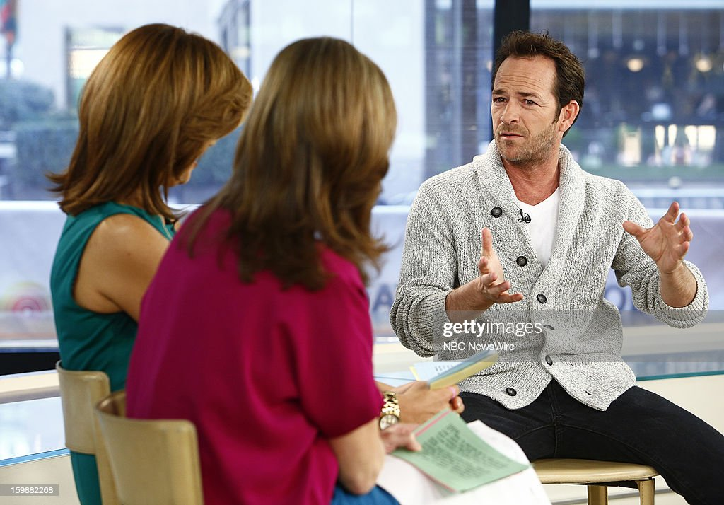Luke Perry appears on NBC News' 'Today' show --
