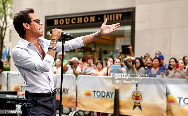 Marc Anthony appears on NBC News' 'Today' show