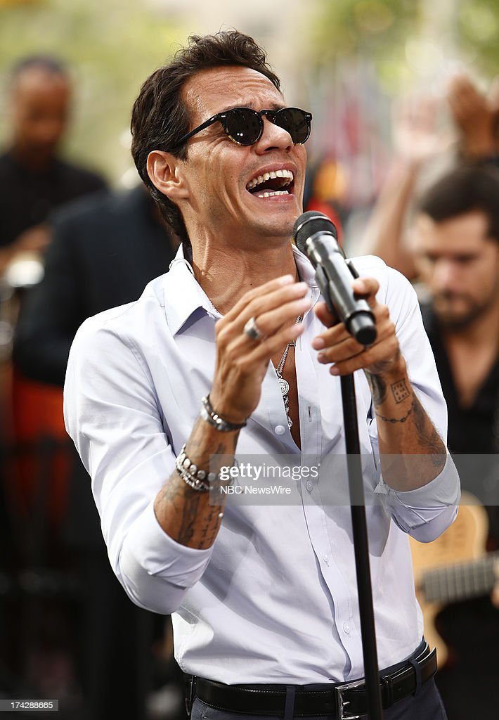 Marc Anthony appears on NBC News' 'Today' show --