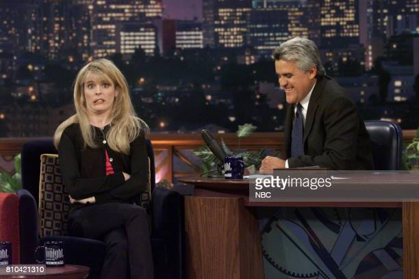 Maria Bamford during an interview with Host Jay Leno on June 26th 2001