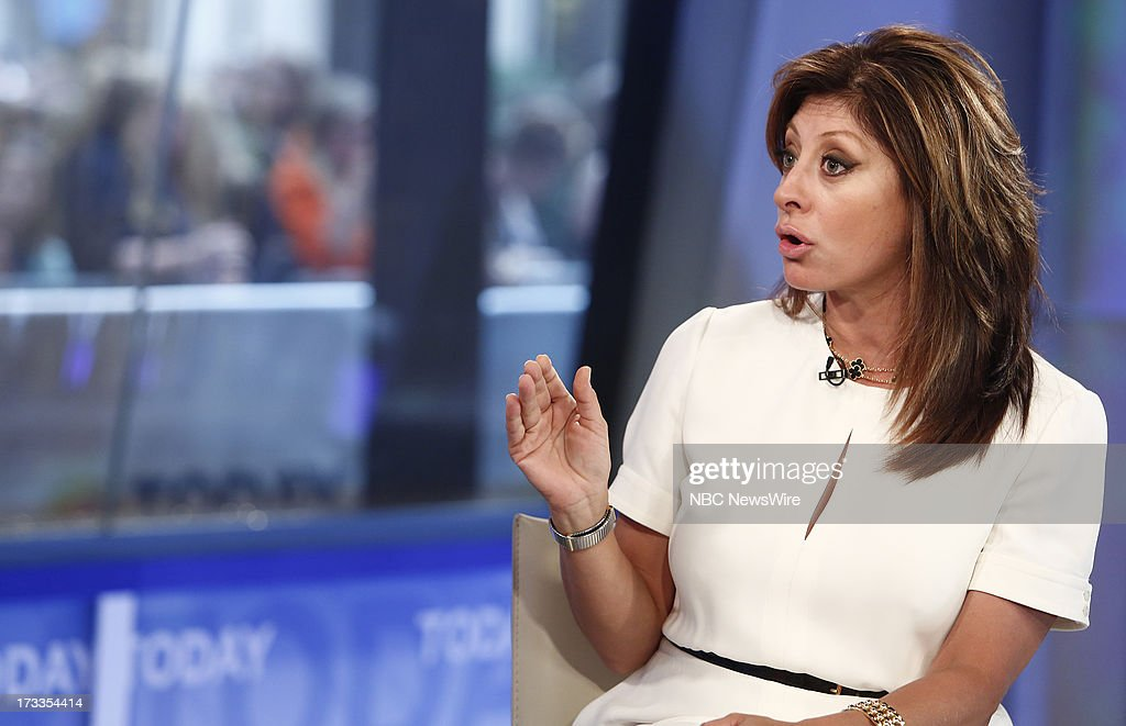 Maria Bartiromo appears on NBC News' 'Today' show --