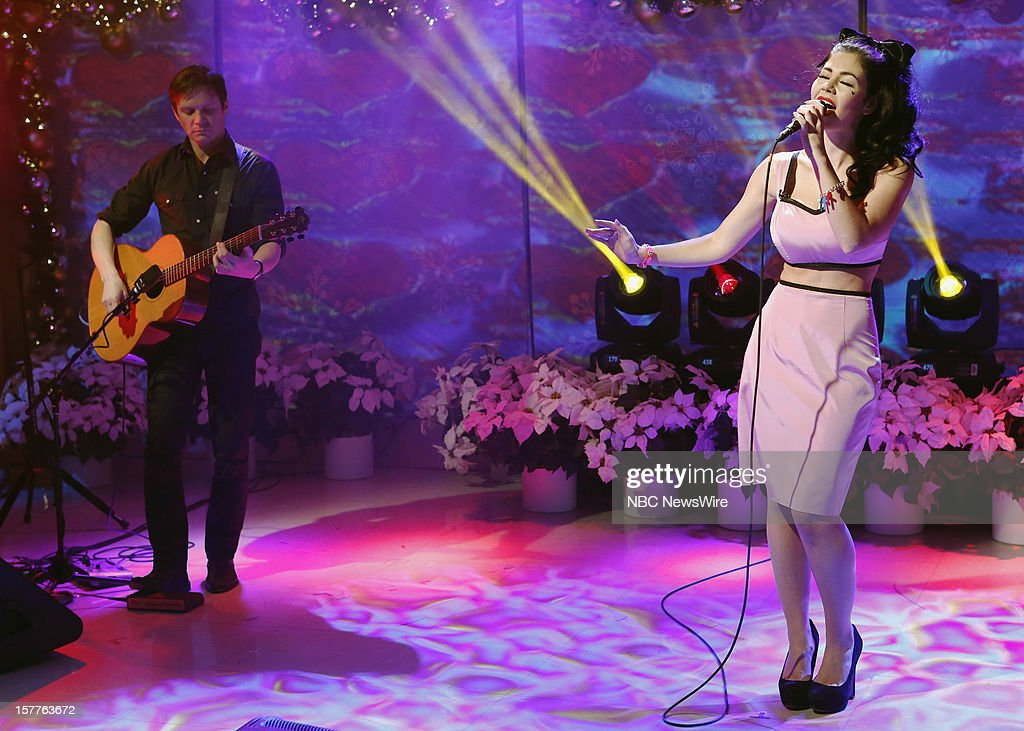 Marina and the Diamonds appears on NBC News' 'Today' show --