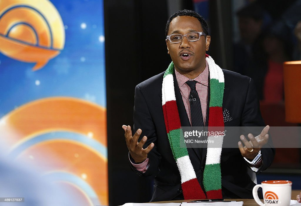 Mario Armstrong appears on NBC News' 'Today' show --