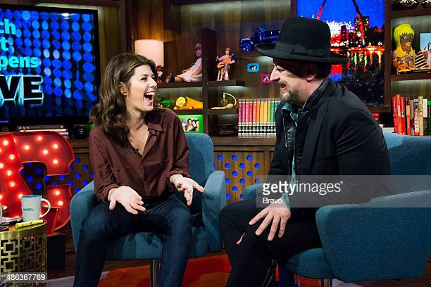 Marisa Tomei and Boy George
