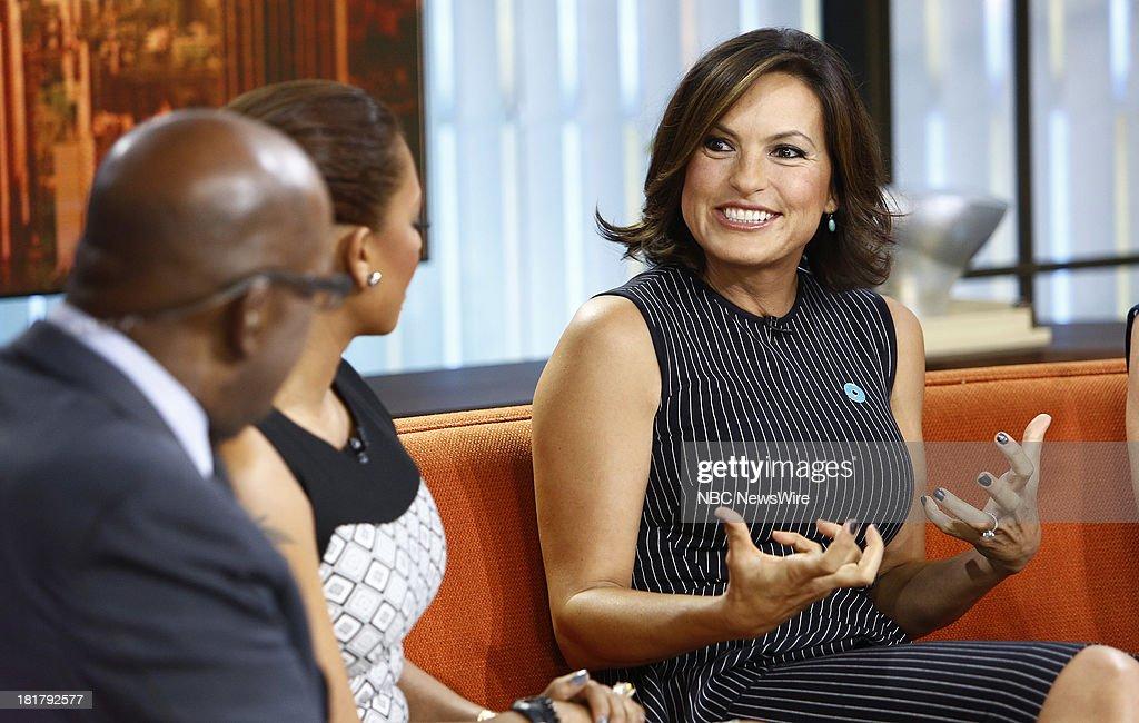Mariska Hargitay appears on NBC News' 'Today' show --