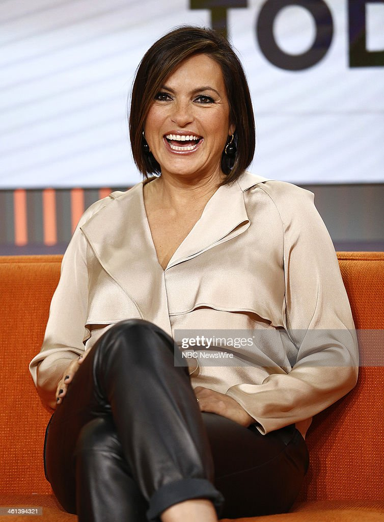 Mariska Hargitay appears on NBC News' 'Today' show --