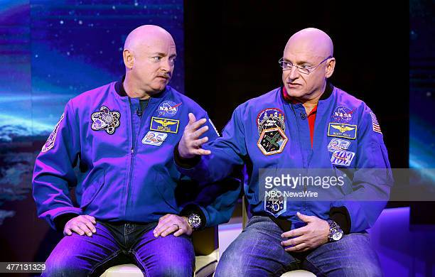Mark Kelly and Scott Kelly appear on NBC News' 'Today' show