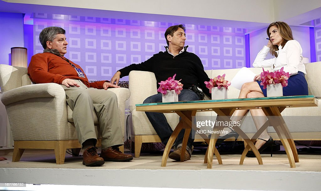 Mark Traub, Dave Auerbach and Natalie Morales appear on NBC News' 'Today' show --