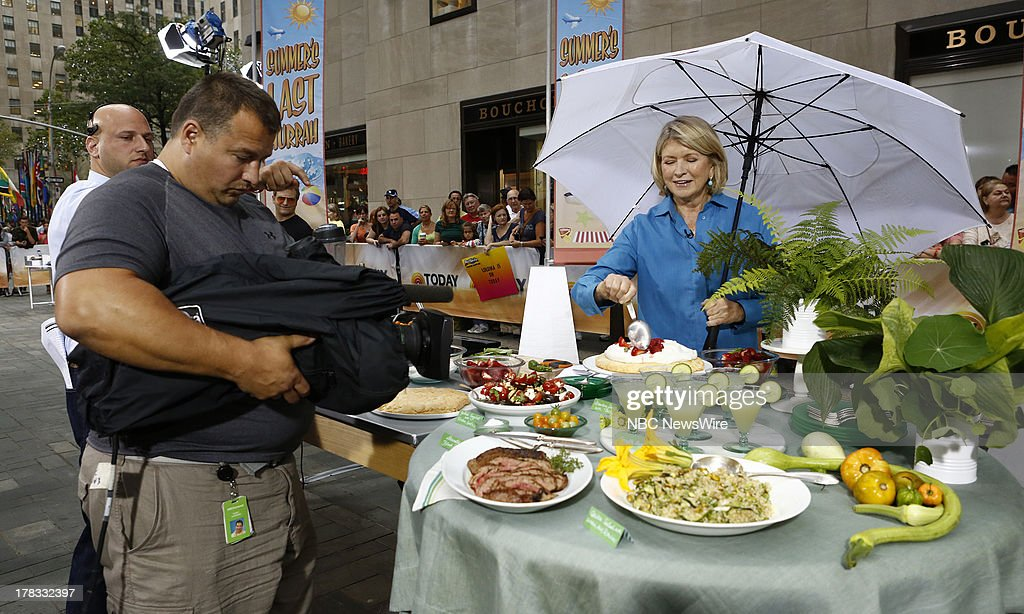 Martha Stewart appears on NBC News' 'Today' show --