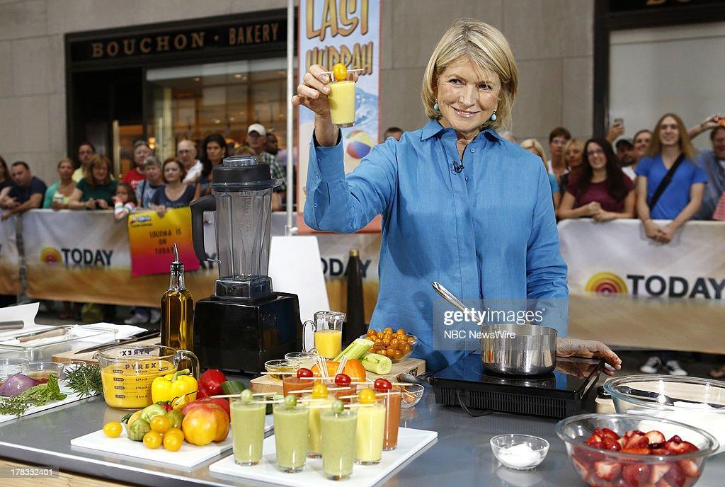 Martha Stewart appears on NBC News' 'Today' show --