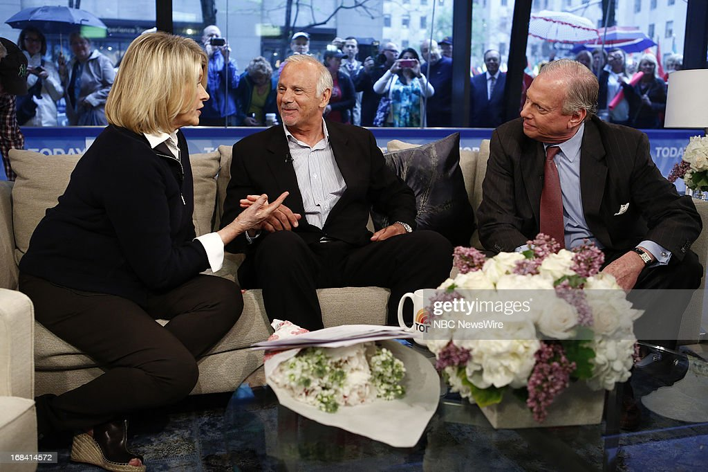 Martha Stewart, Match.com suitors director Stan Schofield and steel trader Larry Traub appear on NBC News' 'Today' show on May 9, 2013 --