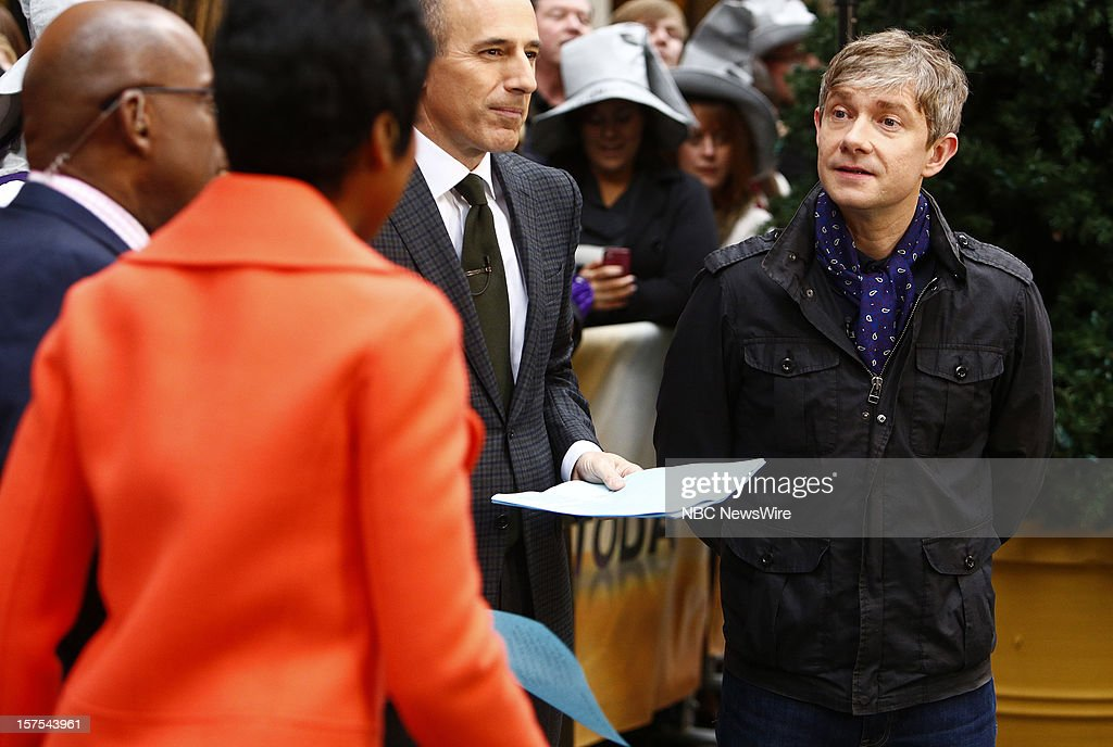 <a gi-track='captionPersonalityLinkClicked' href=/galleries/search?phrase=Martin+Freeman&family=editorial&specificpeople=214753 ng-click='$event.stopPropagation()'>Martin Freeman</a> appears on NBC News' 'Today' show --