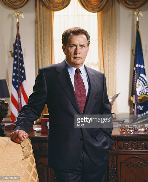 Martin Sheen as President Josiah 'Jed' Bartlet Photo by James Sorensen/NBCU Photo Bank