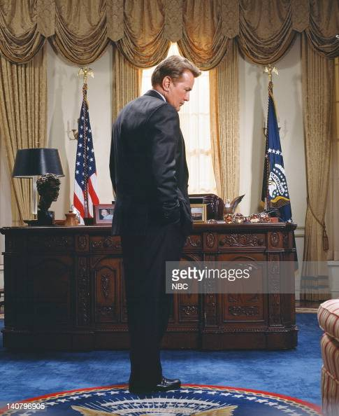 Martin Sheen as President Josiah 'Jed' Bartlet Photo by James Sorensen/NBCU Photo Bank