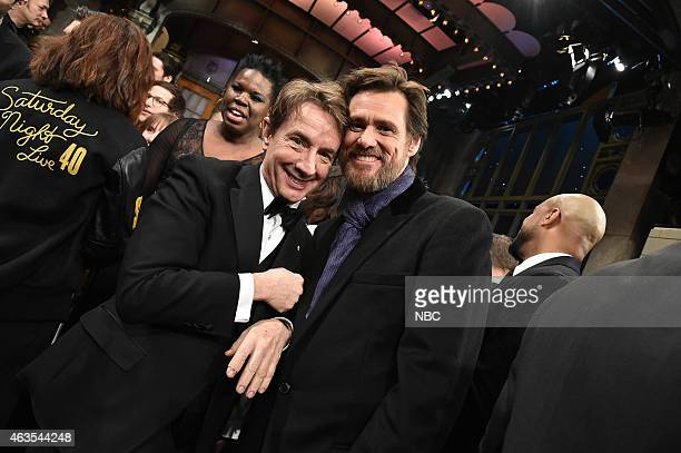 Martin Short Jim Carey on February 15 2015