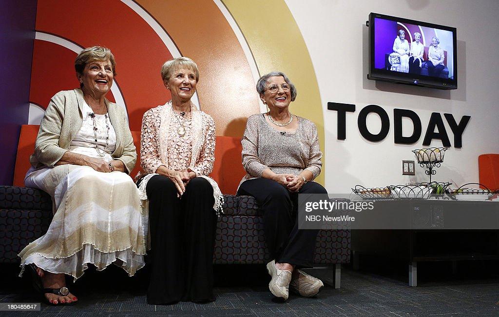 Mary Bartnicki, Josie Cavaluzzi and Teresa Dahlquist appear on NBC News' 'Today' show --