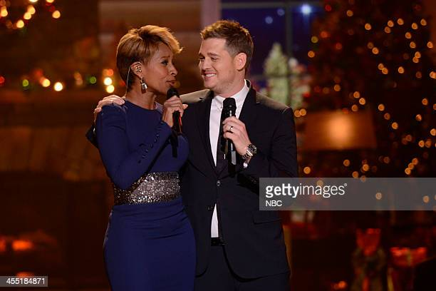 S 3RD ANNUAL CHRISTMAS SPECIAL Pictured Mary J Blige Michael Buble