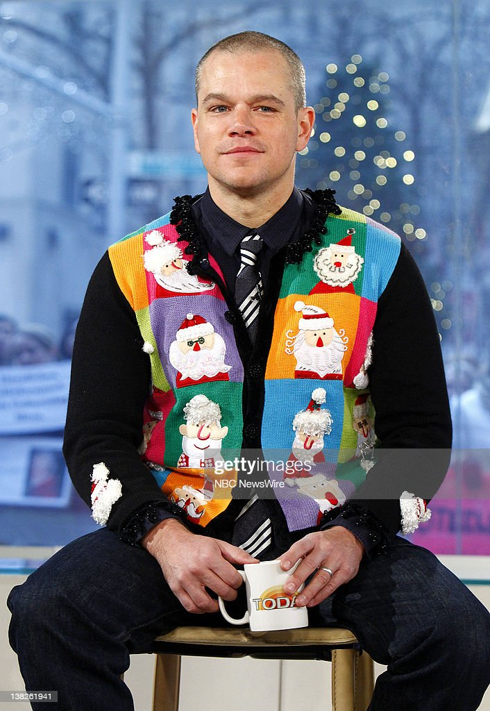 In Focus: Celebrities Wearing Christmas Jumpers
