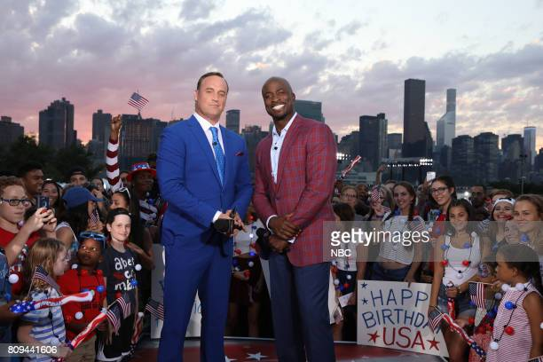 S FOURTH OF JULY FIREWORKS SPECTACULAR Pictured Matt Iseman Akbar Gbajabiamila