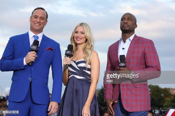 S FOURTH OF JULY FIREWORKS SPECTACULAR Pictured Matt Iseman Kristine Leahy and Akbar Gbajabiamila