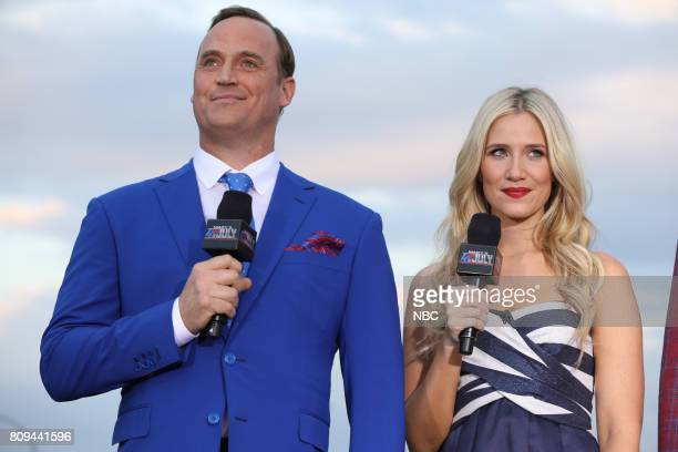S FOURTH OF JULY FIREWORKS SPECTACULAR Pictured Matt Iseman Kristine Leahy