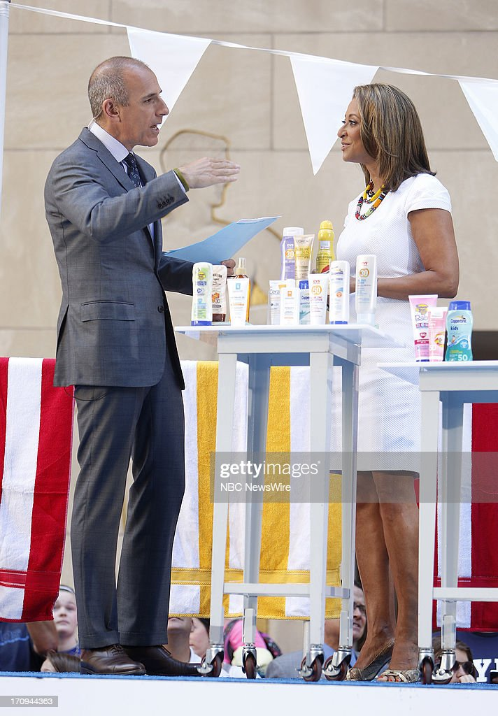 <a gi-track='captionPersonalityLinkClicked' href=/galleries/search?phrase=Matt+Lauer&family=editorial&specificpeople=206146 ng-click='$event.stopPropagation()'>Matt Lauer</a> and Dr. Susan Taylor appear on NBC News' 'Today' show --