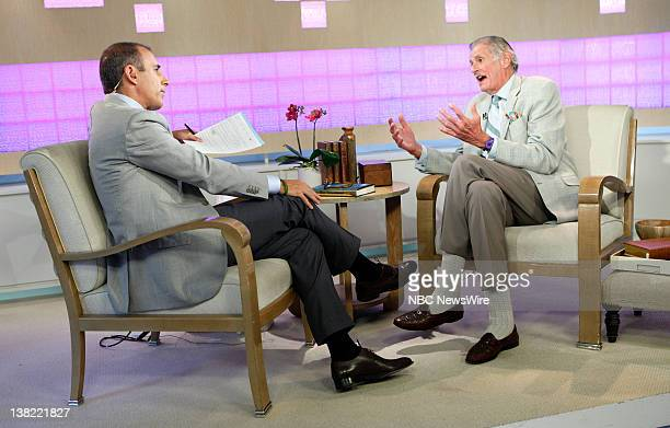 Matt Lauer and Frank Deford appear on NBC News' 'Today' show