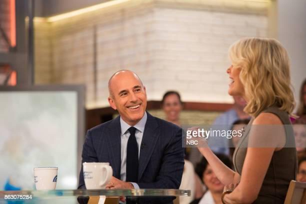 Matt Lauer and Megyn Kelly on Monday October 16 2017