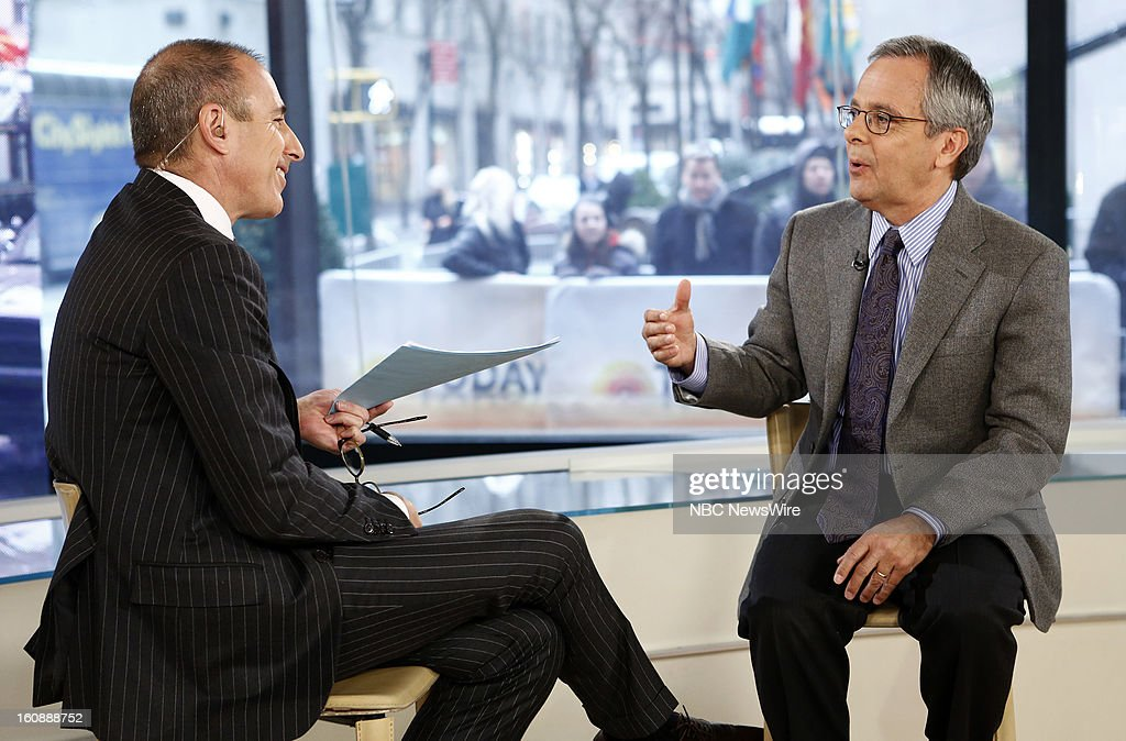 <a gi-track='captionPersonalityLinkClicked' href=/galleries/search?phrase=Matt+Lauer&family=editorial&specificpeople=206146 ng-click='$event.stopPropagation()'>Matt Lauer</a> and Mike Lupica appear on NBC News' 'Today' show --