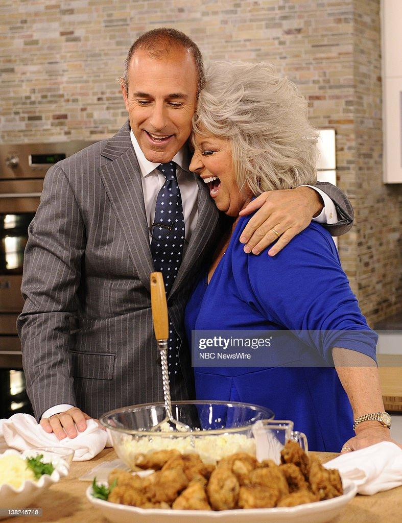 Paula deen photo getty images - Matt Lauer And Paula Deen Appear On Nbc News Today Show