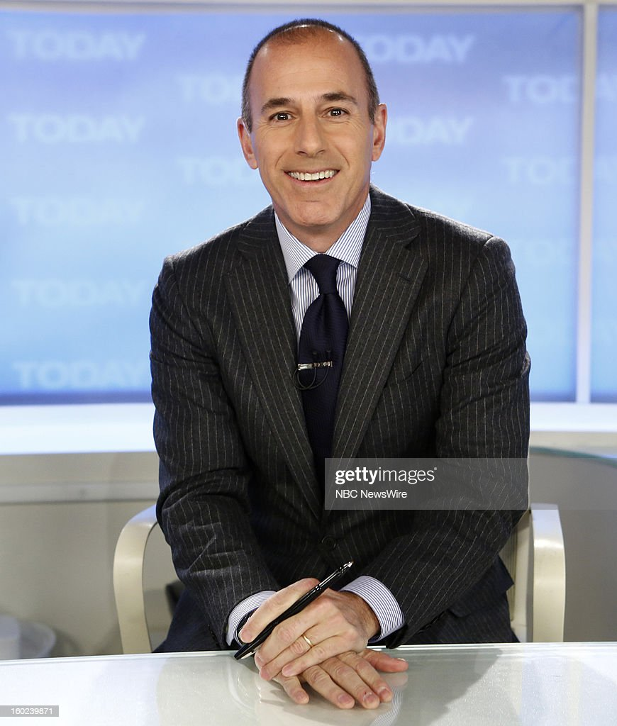 <a gi-track='captionPersonalityLinkClicked' href=/galleries/search?phrase=Matt+Lauer&family=editorial&specificpeople=206146 ng-click='$event.stopPropagation()'>Matt Lauer</a> appears on NBC News' 'Today' show --