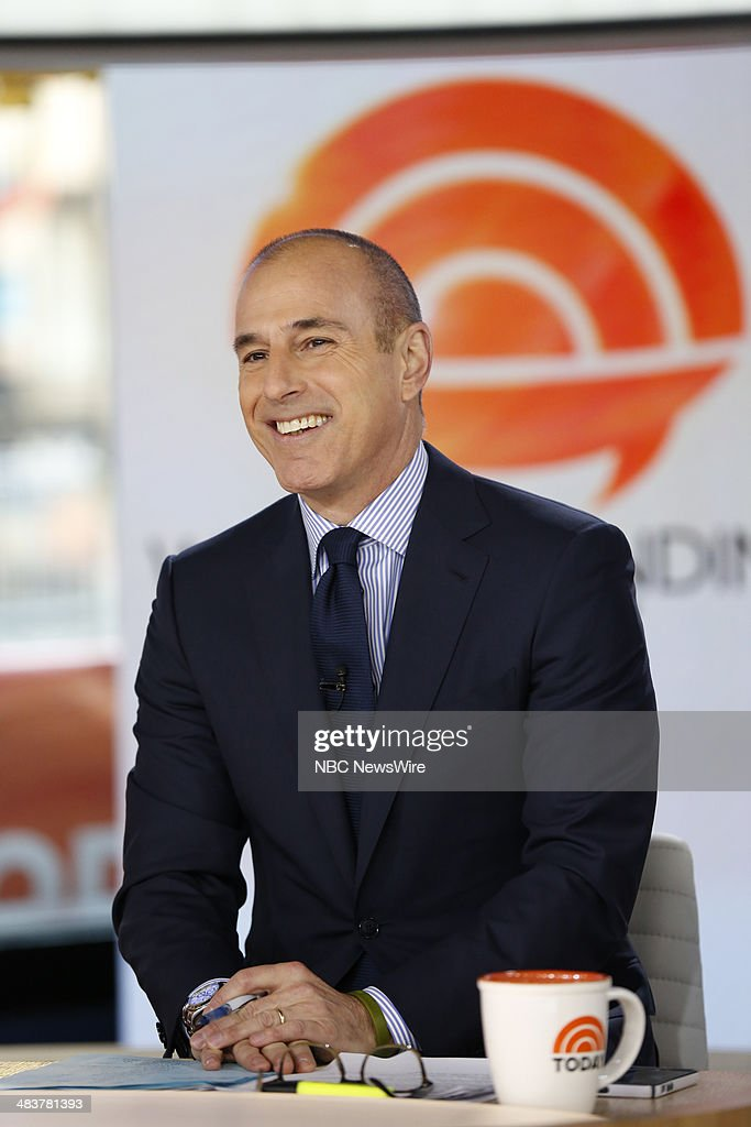 Matt Lauer appears on NBC News' 'Today' show --