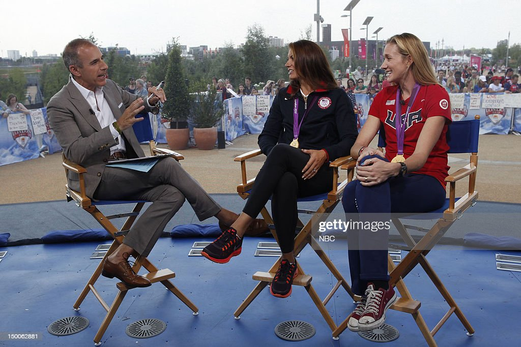 <a gi-track='captionPersonalityLinkClicked' href=/galleries/search?phrase=Matt+Lauer&family=editorial&specificpeople=206146 ng-click='$event.stopPropagation()'>Matt Lauer</a>, Misty Mae-Treanor, <a gi-track='captionPersonalityLinkClicked' href=/galleries/search?phrase=Kerri+Walsh&family=editorial&specificpeople=162761 ng-click='$event.stopPropagation()'>Kerri Walsh</a> Jennings on August 9, 2012 --