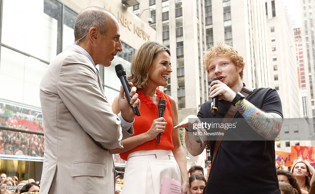 <a gi-track='captionPersonalityLinkClicked' href=/galleries/search?phrase=Matt+Lauer&family=editorial&specificpeople=206146 ng-click='$event.stopPropagation()'>Matt Lauer</a>, <a gi-track='captionPersonalityLinkClicked' href=/galleries/search?phrase=Savannah+Guthrie&family=editorial&specificpeople=653313 ng-click='$event.stopPropagation()'>Savannah Guthrie</a> and <a gi-track='captionPersonalityLinkClicked' href=/galleries/search?phrase=Ed+Sheeran&family=editorial&specificpeople=7604356 ng-click='$event.stopPropagation()'>Ed Sheeran</a> appear on NBC News' 'Today' show --